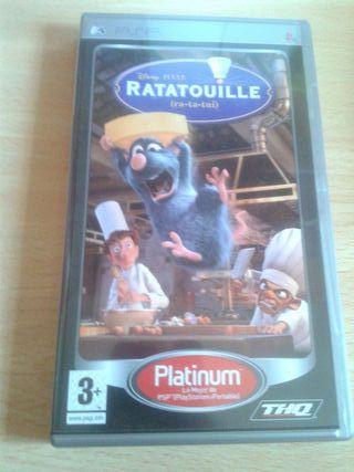 Juego Psp: Ratatouille