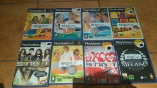 Play station 2 con juegos