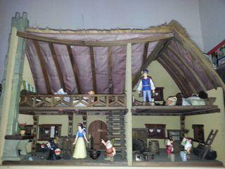Casa artesana de blanca nieves y los 7 enanitos