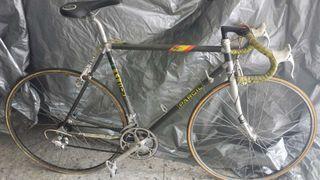 Bicicleta cuadro look de carbono