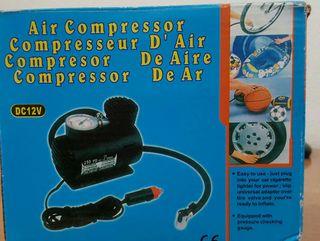 Compresor de aire.