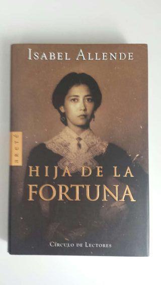 "Libro ""Hija de la fortuna"""