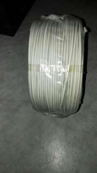 Bobina de cable telefónico nueva