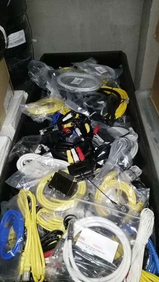 Cables HDMI, UTP, antena, euroconector, RCA...nuevos