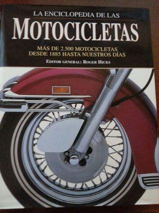 Libro enciclopedia de motocicletas