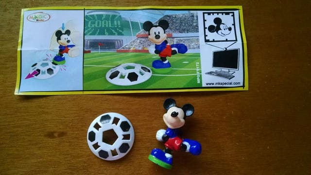 Figura kinder Mickey FT172+ bpz