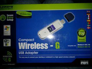 Adaptador compacto Wireless usb