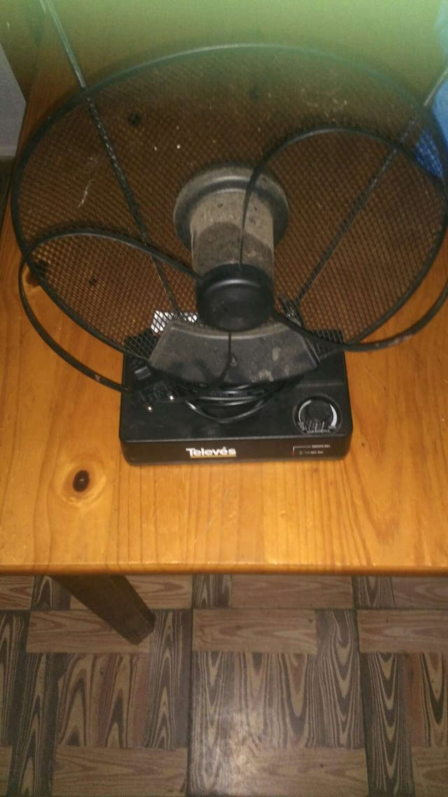 Antena usada para TV