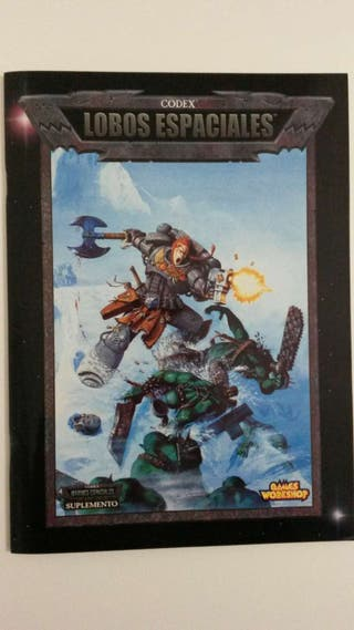 Codex Lobos Espaciales - Warhammer 40k