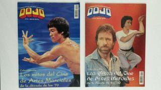 Pack de Revistas de Artes Marciales de los 90's