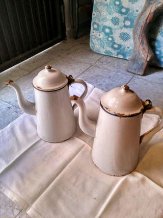 Cafeteras porcelana