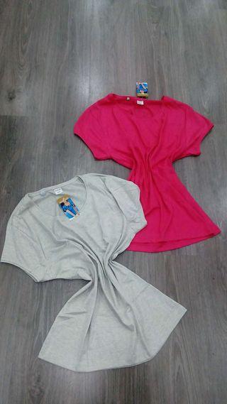Camisetas básicas de algodón