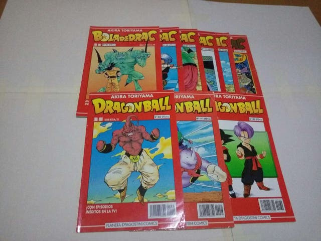 Cómics dragón ball serie roja
