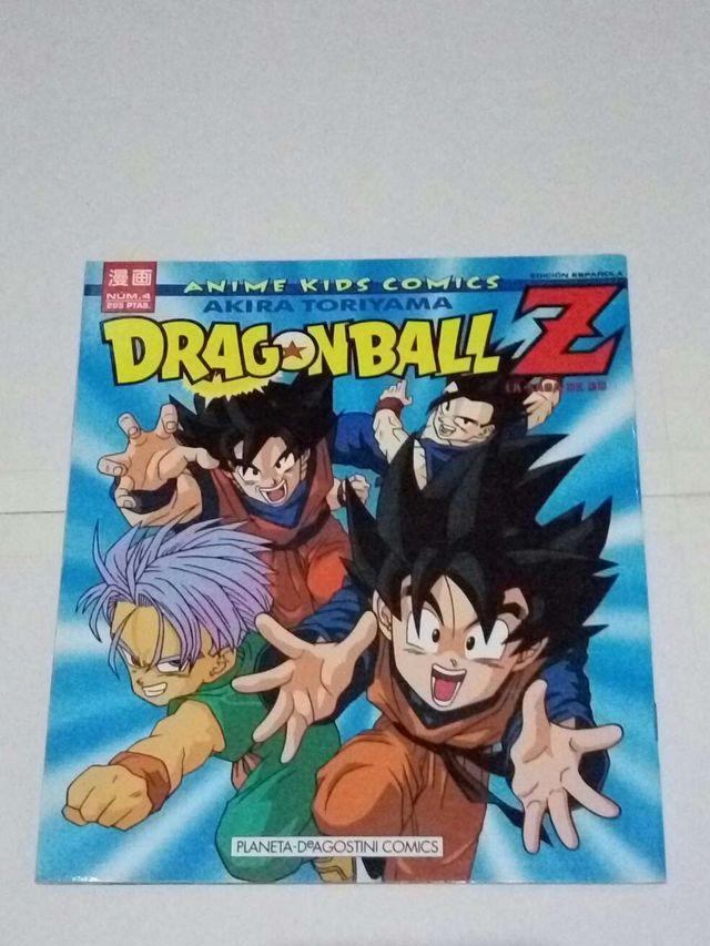 Cómic dragon ball z anime kids comic