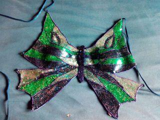 top mariposa baile oriental disfraz
