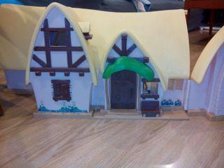 Casa de blancanieves.