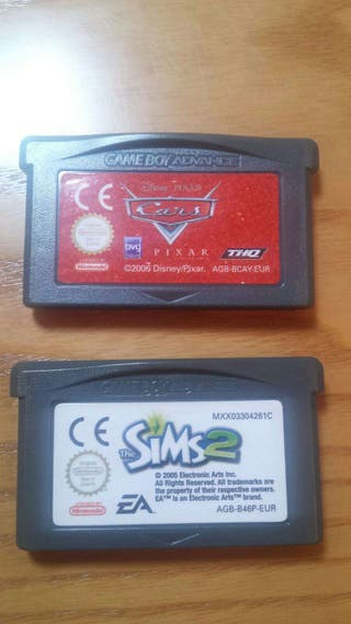 3 juegos gameboy advance