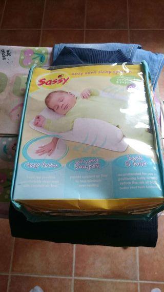Cojín anti vuelco bebé