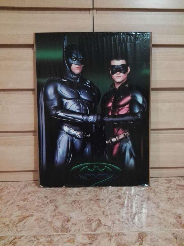 Poster de batman y robin