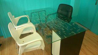 Mesas d cristal escritorio