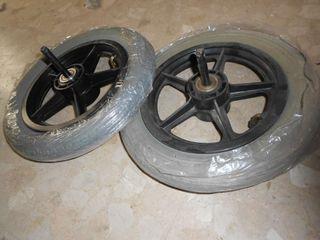 Ruedas traseras silla de ruedas