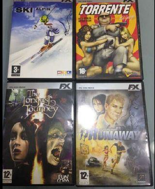 Lote 4 Juegos FX Para PC
