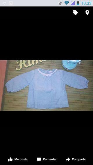 Camisa Gocco 6/9 meses