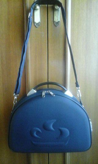 Bolsa de viaje - Maletín cartera azul