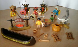 Clicks Playmobil indios