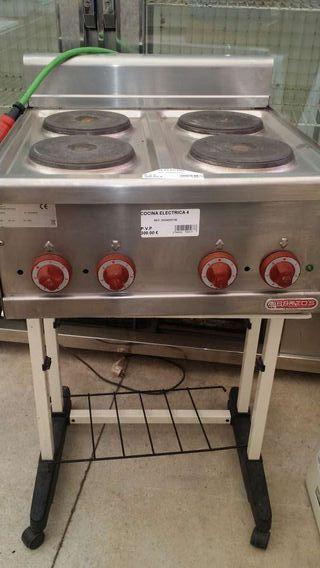 Cocina 4 fuegos sobremesa electrica de segunda mano por 75 for Cocina 3 fuegos sobremesa