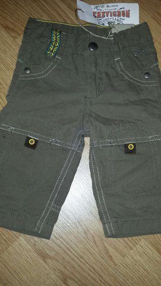 NUEVOS!! Pantalón CHEVIGNON talla 3 meses