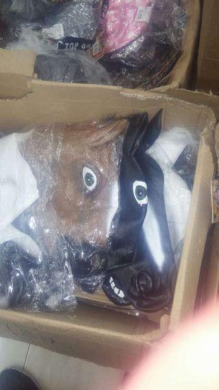 Mascara caballo LATEX