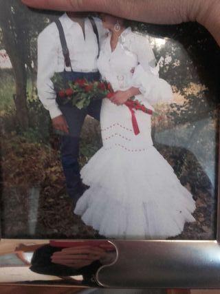 Como hacer vestido de novia en porcelana fria