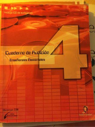 Cuaderno De Audicion