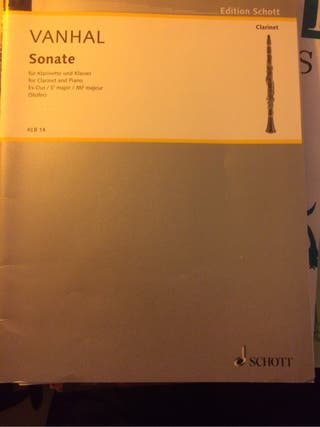 VANHALL SONATE