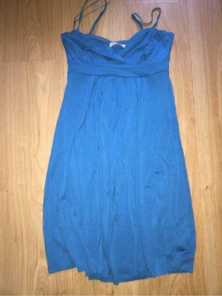 Vestido Tirantes Azul