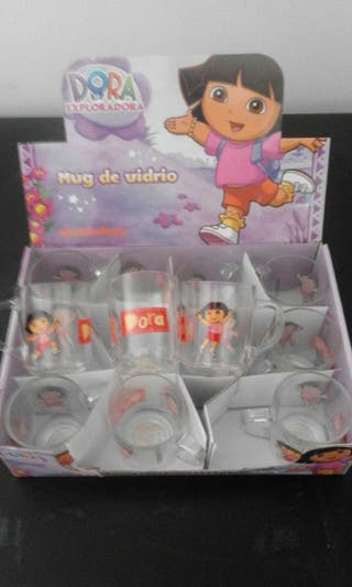 Taza de vidrio Dora Exploradora