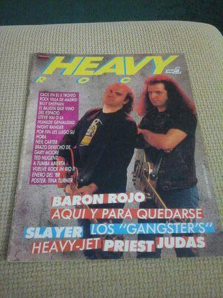 Revista de POPULAR 1 ( HEAVY ROCK ) ( COLECCIONISTAS )