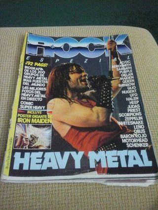 Revista de ROCK ( Especial No 1)( COLECCIONISTAS )
