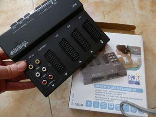 Base de Multiples Conexiones para TV - PsVita - Nintendo - PS4 - Play Station - Etc.