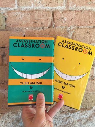 Manga Assassination Classroom 1 i 2