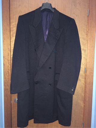 Abrigo cashmere By Crombie Talla XL