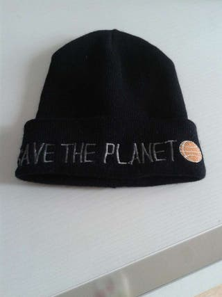 """Gorro """"Save the planet"""""""