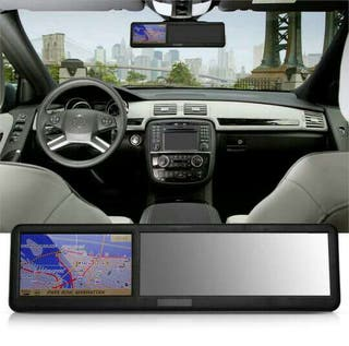 Espejo retrovisor GPS