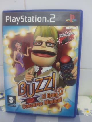 Juego play2 buzz gran concurso musical