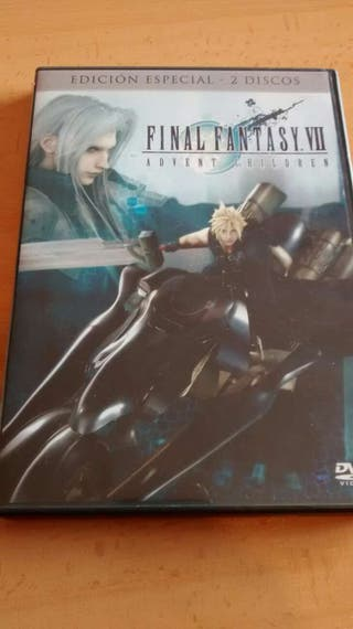 Final Fantasy Advent Children DVD - EDICIÓN ESPECIAL 2 discos