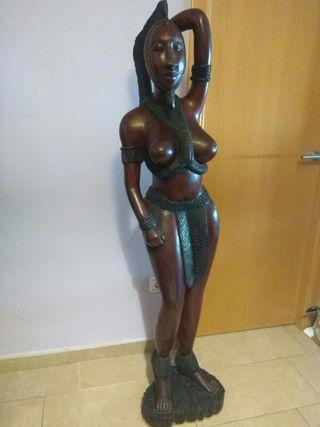Figura decoración africana