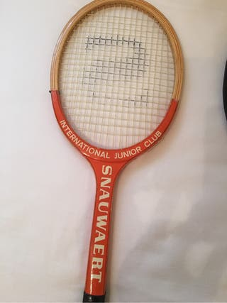 Lote Raquetas Antiguas De Madera De Tenis.