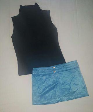 Falda + camiseta de regalo
