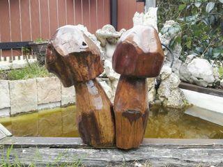 Champiñones de madera artesanales
